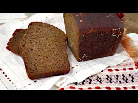 черный хлеб польза // черный хлеб для похудения // ЧЕРНЫЙ РЖАНОЙ ХЛЕБ