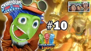 Lets Play Skylanders Trap Team: Chapter 10 - Sewers of Supreme Stink w/ SKY MOM, Fisticuffs, S.S.