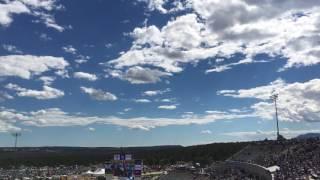 pregame flyover at air force vs navy game