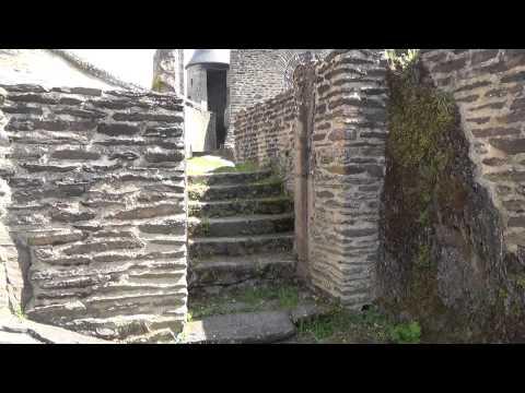 Le Chateau de Bourscheid Luxembourg partie 1