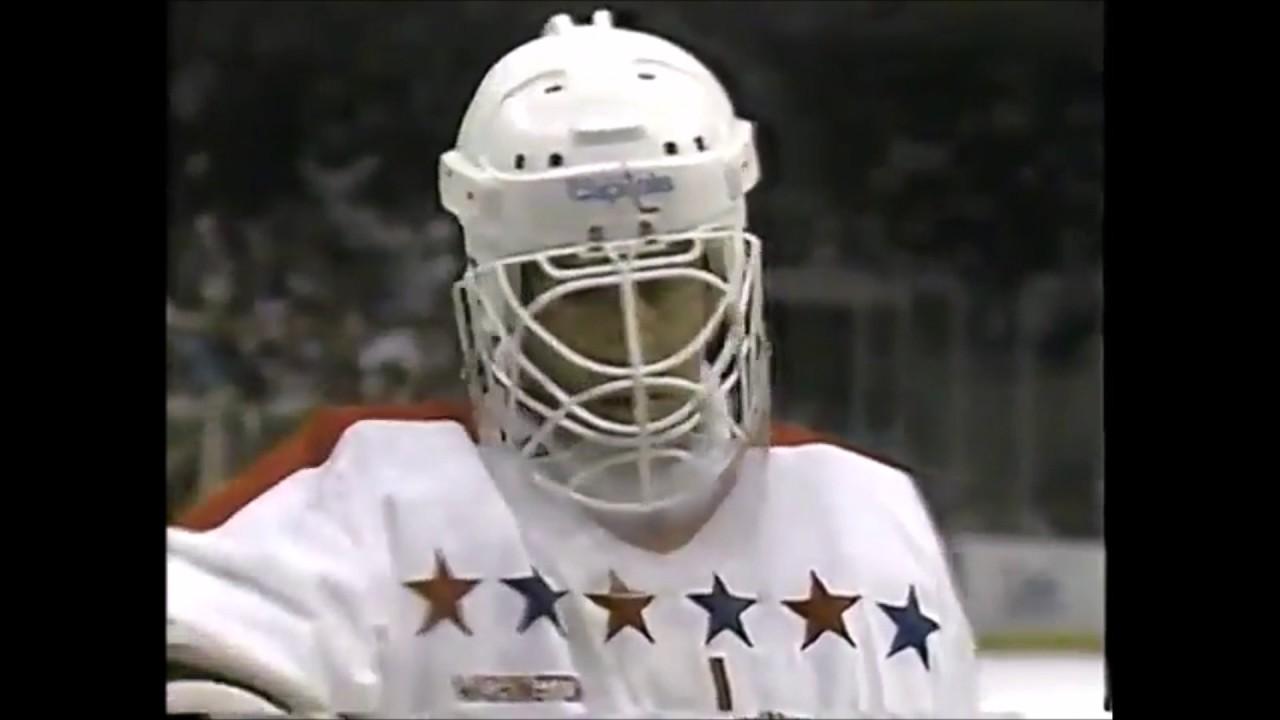 Old School Hockey Goalie Saves Compilation Volume 2 Youtube