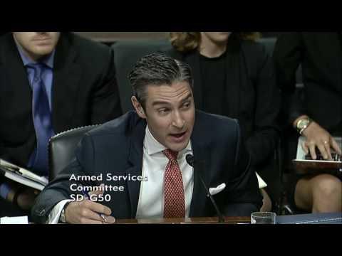 Sen. Dan Sullivan (R-AK) at a Senate Armed Services Committee Hearing - July 13, 2017