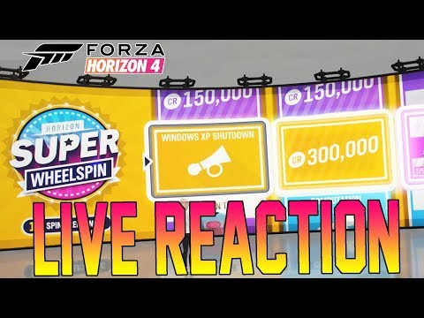 Forza Horizon 4 - Live Reaction To Getting WINDOWS XP HORN! - **Cringe**