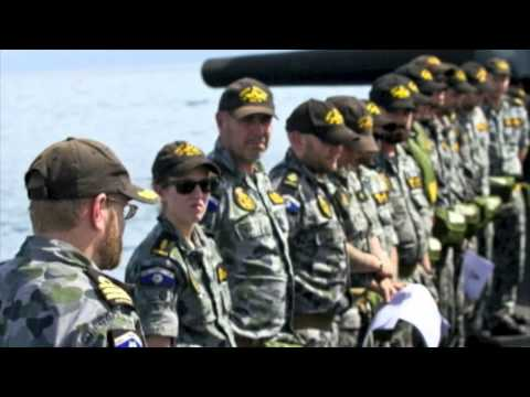 HMAS Waller 2014 - North East Asian Deployment