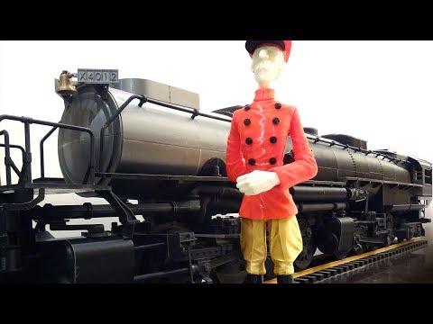 4-8-8-4 Big Boy Locomotive 蒸汽火車頭