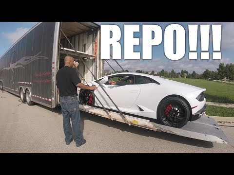 Lamborghini REPO - Caught On Tape!