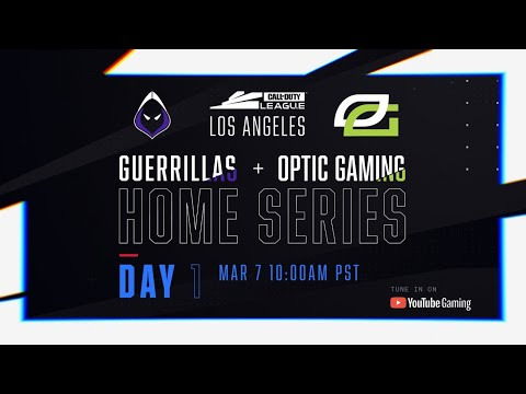 Call Of Duty League 2020 Season | Los Angeles Home Series | Day 1