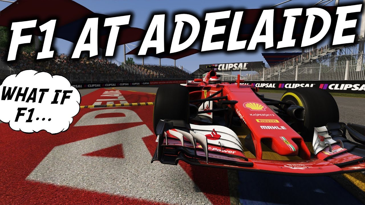 What if FORMULA 1 returned to ADELAIDE?