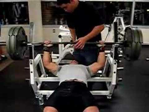 bench press 405 at 175 lbs youtube