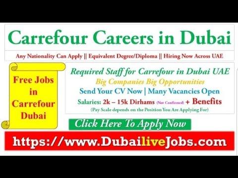 Carrefour Careers In Dubai Supermarket Jobs In Dubai Dubai Jobs