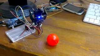 Gesture Controlled Robot using Image Processing