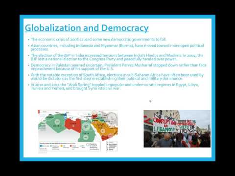 Global Democracy and Security