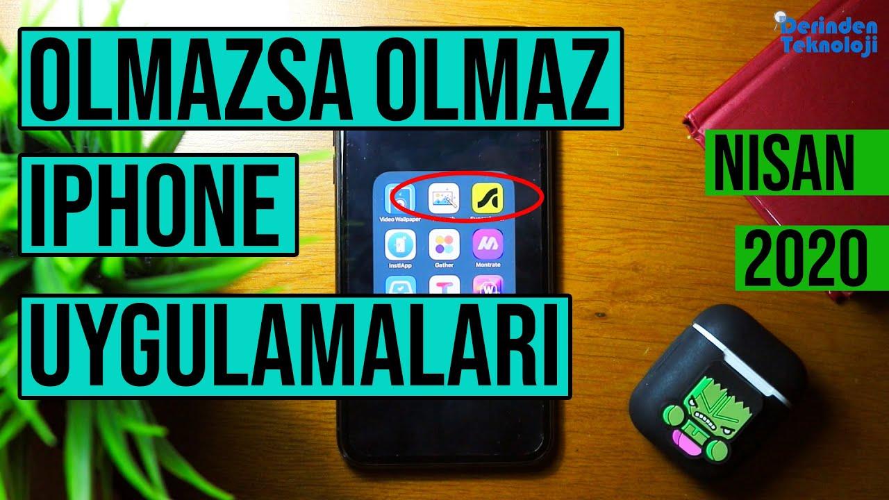 Mutlaka Indirmeniz Gereken Yeni Iphone Uygulamalari Nisan 2020 Youtube