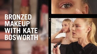 Kate Bosworth and Rosie Huntington-Whiteley recreate Hung Vanngo's Bronzy makeup