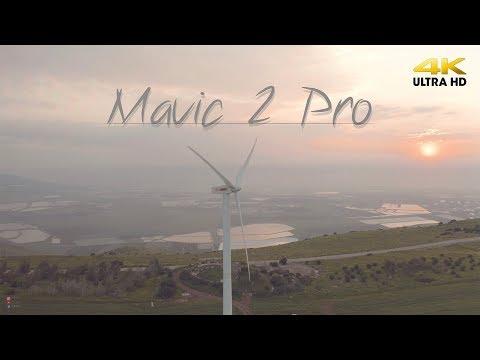 Mavic 2 Pro Vs Wind Turbine   4K