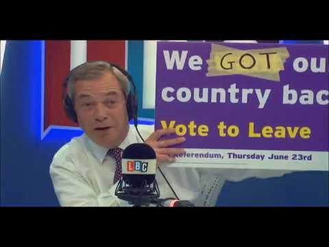 Nigel Farage Asks Did David Davis get the better of the EU Today
