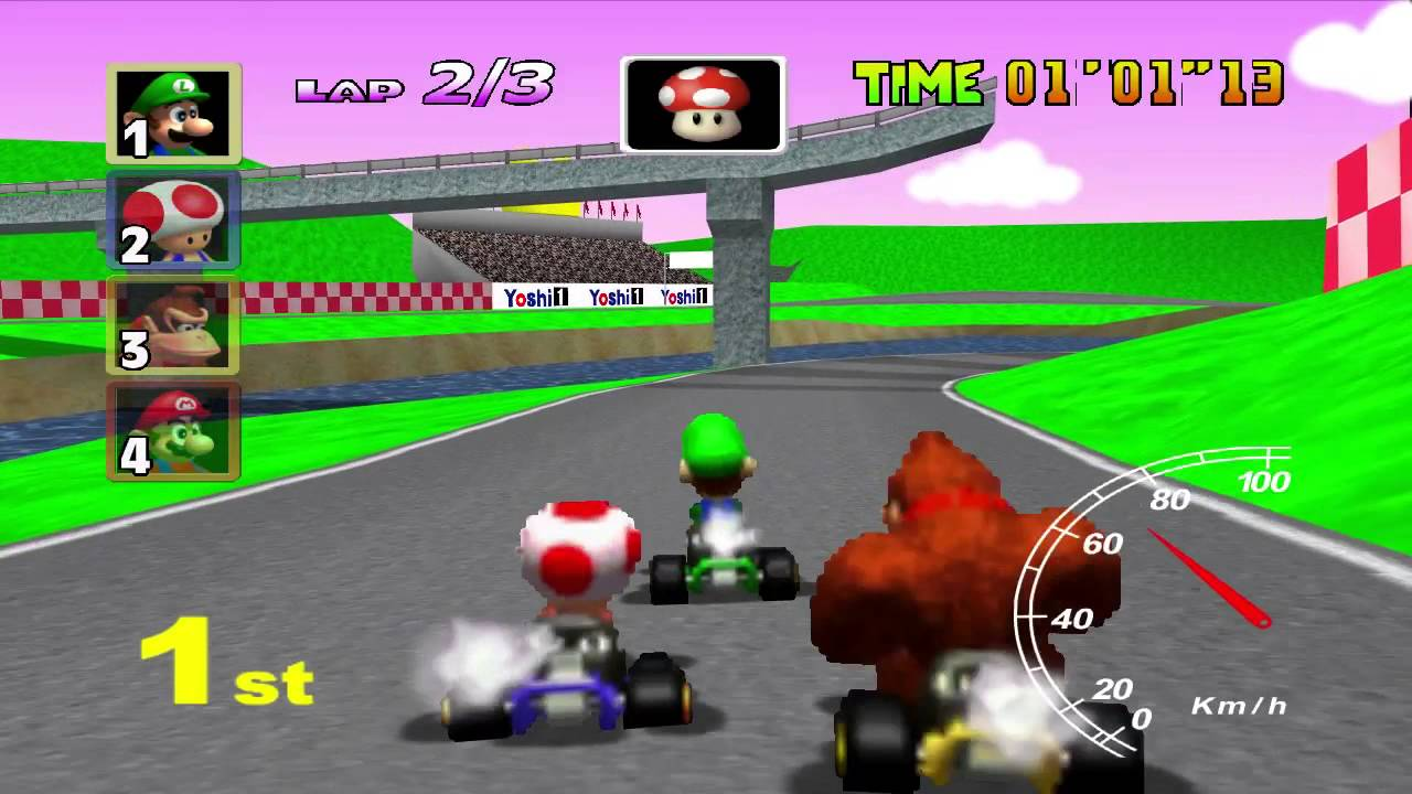 Image result for mario kart 64 royal raceway