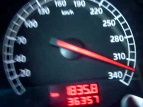 Lamborghini Gallardo Nera 0-340 km/h - TOP SPEED - YouTube