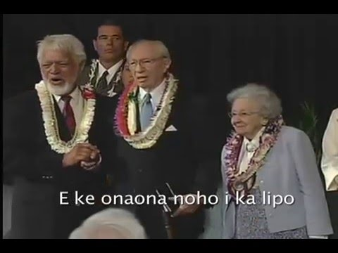 """Pres. Gordon B  Hinckley: Aloha from Hawaii"""