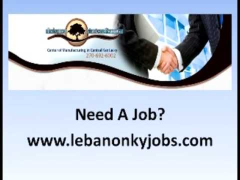 Lebanon Kentucky Has Jobs Available!