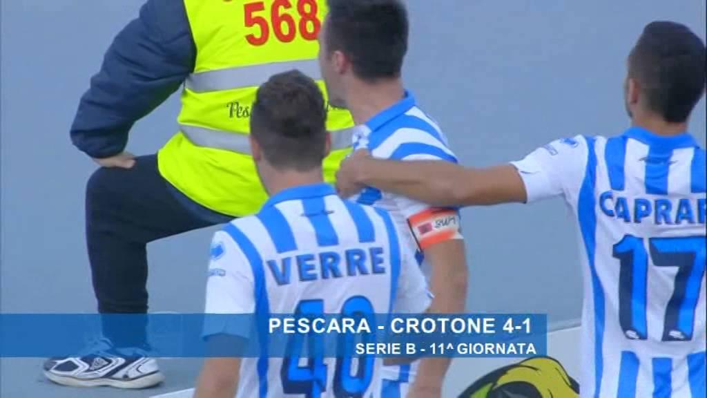 Pescara 4-1 Crotone