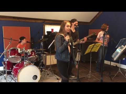 Music Depot Modern Oldies Covering It's So Easy by Buddy Holly in Rehearsal