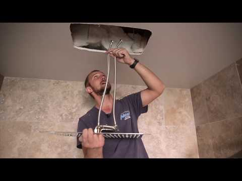 how-to-install-rectangular-ceiling-mounted-showerhead-model-g-8245-sp