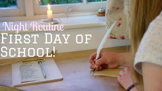 One of Ruby Granger's most viewed videos: First Day of School Night Routine || Productive & Organised #grangerbts