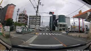 地震発生の瞬間 大阪北部地震 2018年6月18日