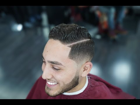 HAIRCUT TUTORIAL | COMBOVER | LOW FADE | BLOW DRY AND STYLE