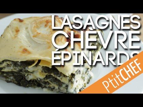 recette-de-lasagnes-au-chèvre-et-épinards,-ptitchef.com