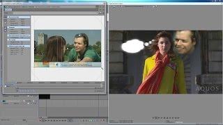 Sony Vegas Pro 13 - работа с видео , плагин Match Move