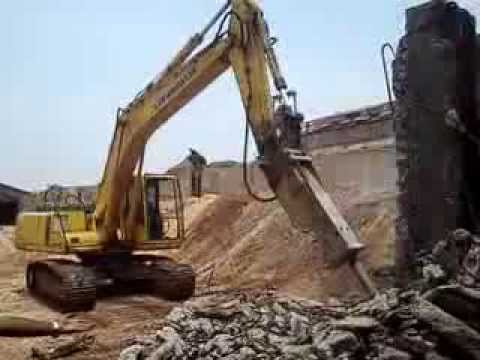 Rcc Concrete Wall Demolishing Work 9884846446 Tritherm