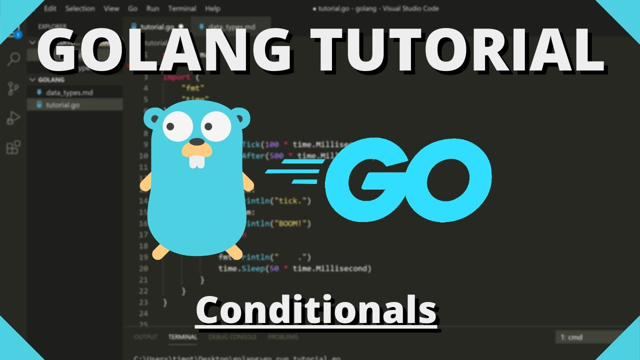 Golang Tutorial #7 - Conditions & Boolean Expressions