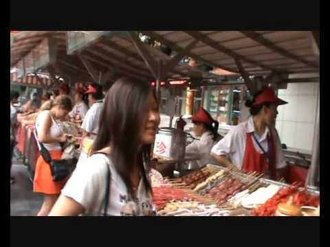 China Beijing Part 6: night food market Donghuamen