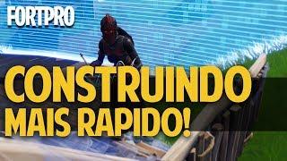 FORTPRO #5 - COMO CONSTRUIR MAIS RÁPIDO - EXERCÍCIOS PRÁTICOS DE BUILD FORTNITE BATTLE ROYALE