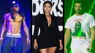 Nicki Minaj Denies Having Sex With Drake & Lil Wayne In New Single