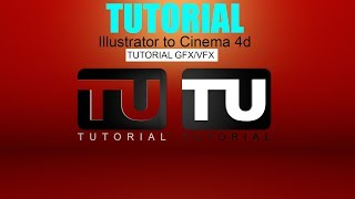 Illustrator Path Extrude in Cinema 4d for Beginner