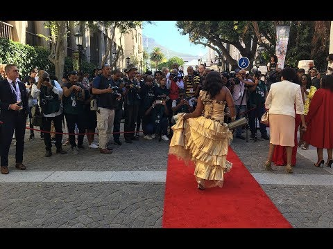 Politicians grace red carpet at Sona 2018