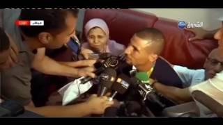 """تغطية مباشرة  لوصول  العداء الجزائري """"توفيق مخلوفي"""" إلى أرض الوطن"""