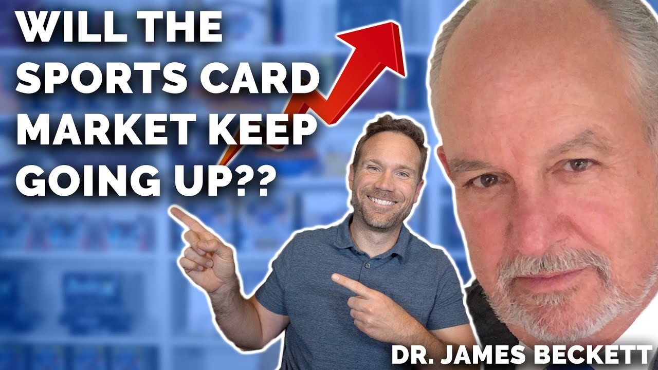 Will the Sports Card Market Keep GOING UP? Interview with THE GOAT Dr. James Beckett