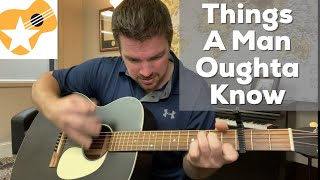 Things A Man Oughta Know Cover - مهرجانات