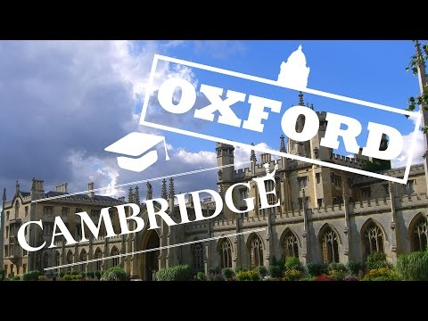 VLOG - Travelling to Oxford & Cambridge