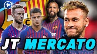 Le casse-tête du Barça pour régler le cas Neymar | Journal du Mercato