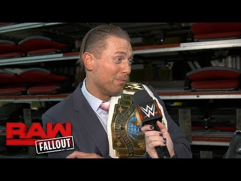 The Miz brags about adding Kane to his TLC team: Raw Fallout, Oct. 16, 2017