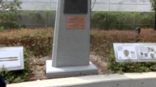 兵庫県西宮市甲子園町1-82の甲子園球場前の金本知憲1492試合連続全...