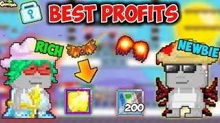 Best Profits Legend Tricks ( 0 Dl to 3000Dls )   GrowTopia