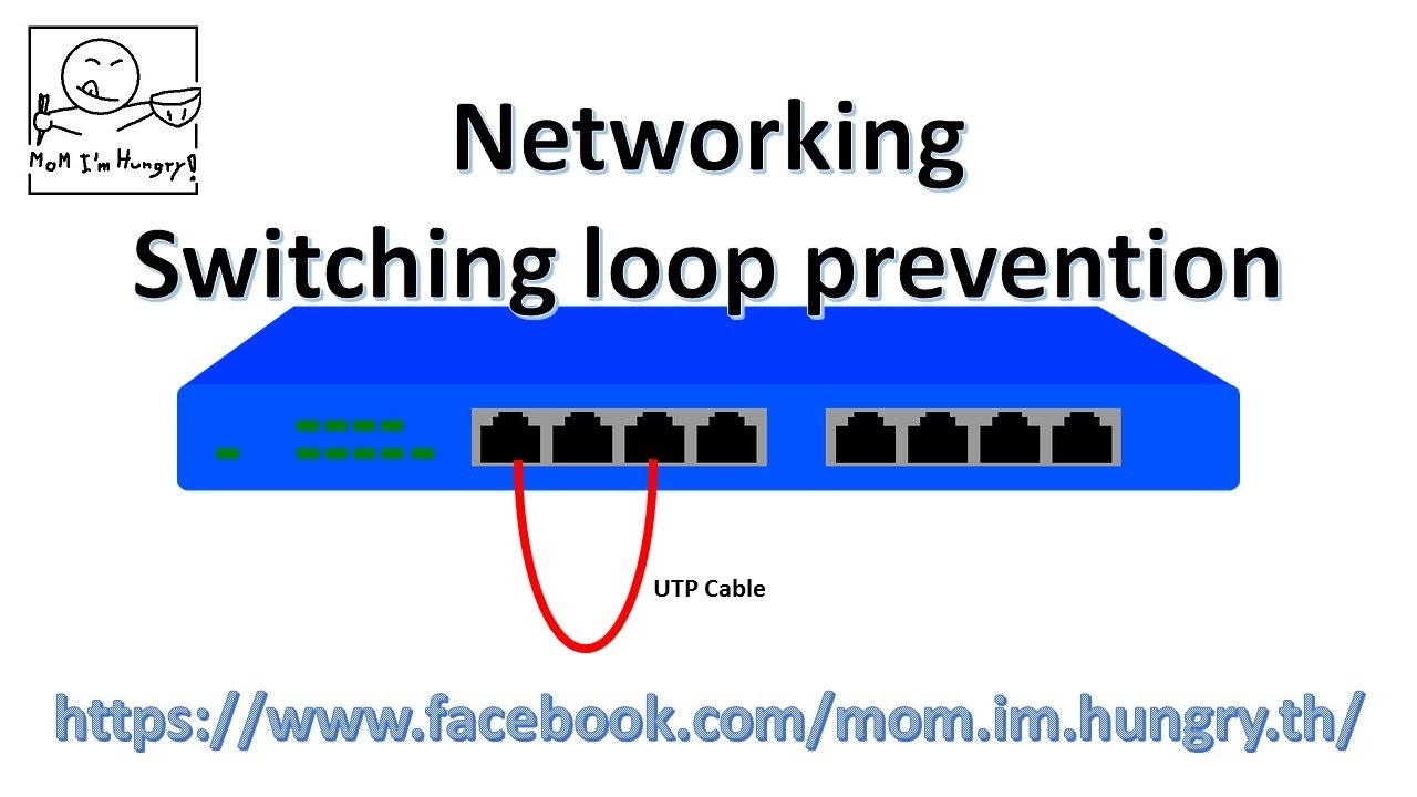 hight resolution of networking switching loop prevention