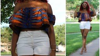 DIY Trendy Off Shoulder Top (Sewing)