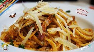 377 - Spaghetti alici e pancetta..e ti passa anche la fretta! (primo piatto terra/mare genuino)